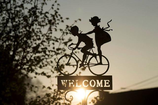 vítejte cyklisti
