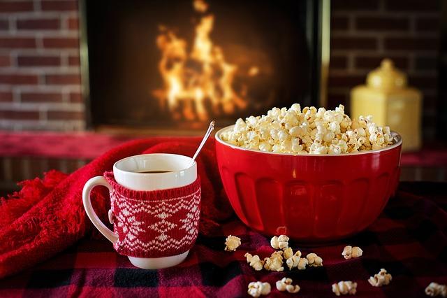 mísa popcornu