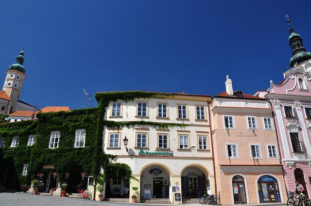 hotel na náměstí