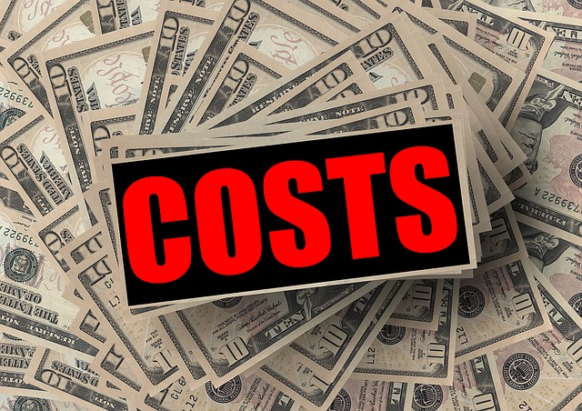 náklady v dolarech