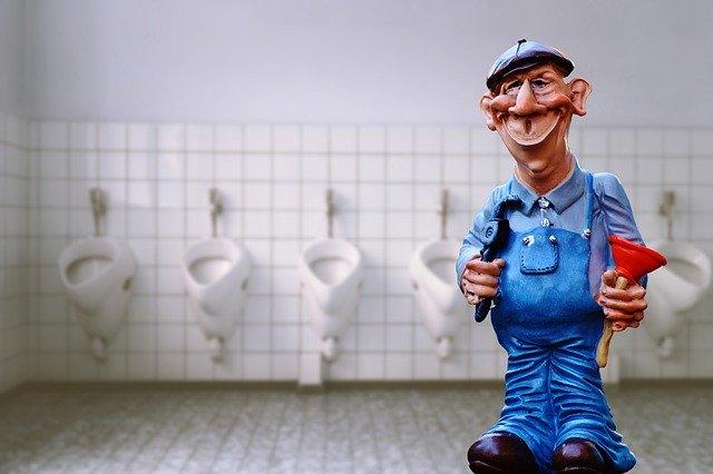 instalatér, toalety