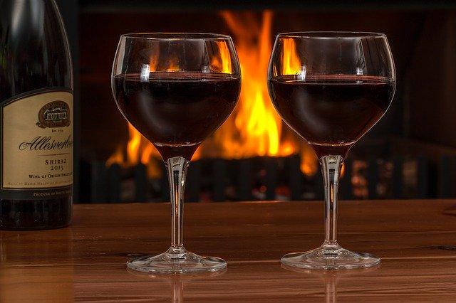 dvě skleničky